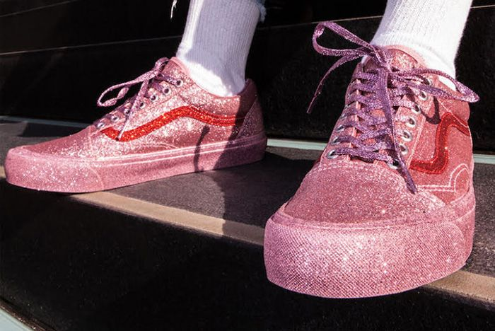 Opening Ceremony X Vans Old Skool Glitter Pack 2
