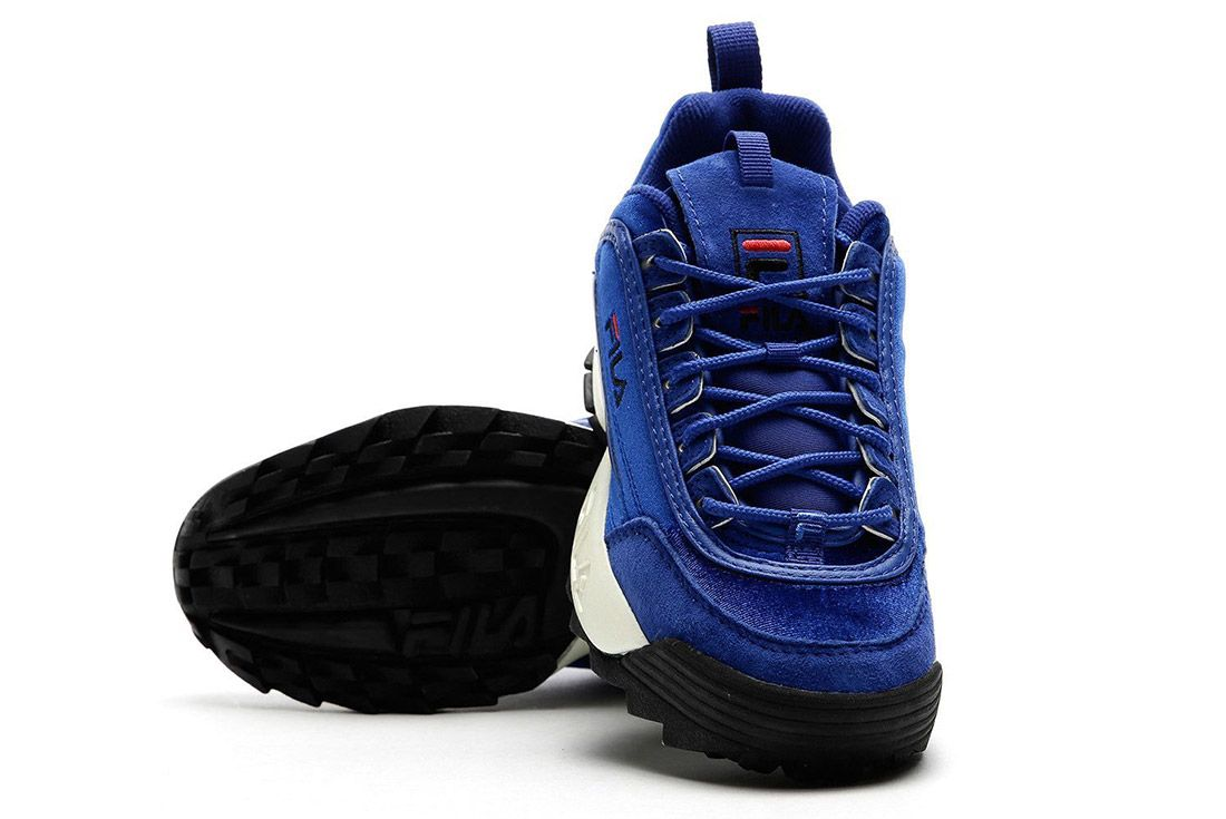 Fila Disruptor V Low Womens Royal Blue Sneaker Freaker 5