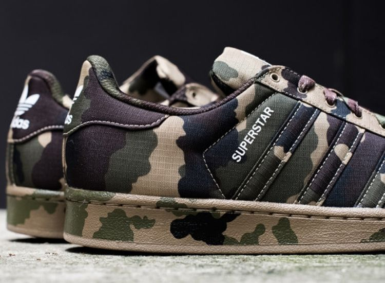 Adidas Superstar Camo 4