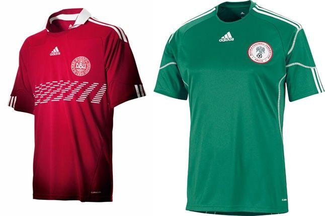 Adidas Nigeria Denmark World Cup Kit 1 1