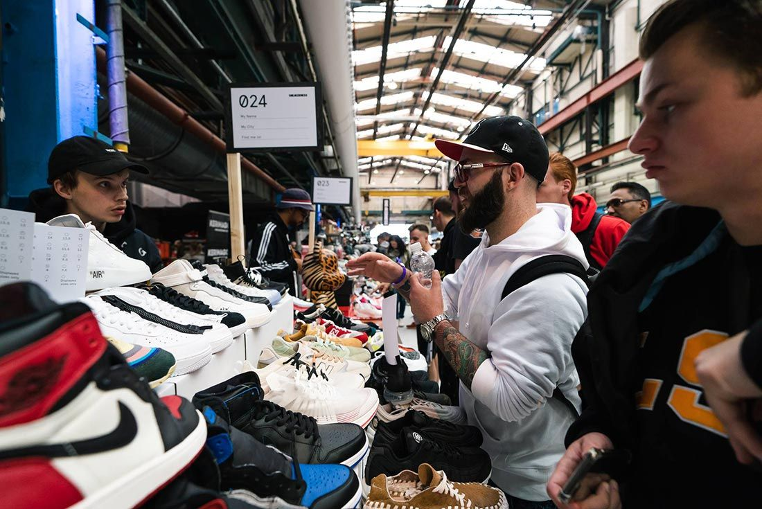 Sneakerness Amsterdam Bartering