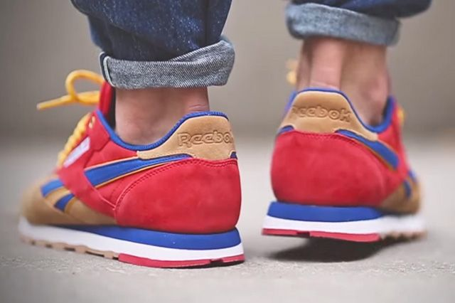 Snipes X Reebok Classic Leather Camp Out1