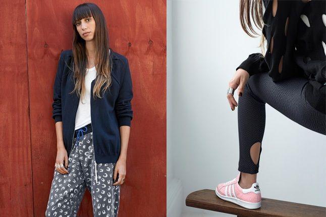 Adidas Originals Blue Spring Sneaker And Pants 1