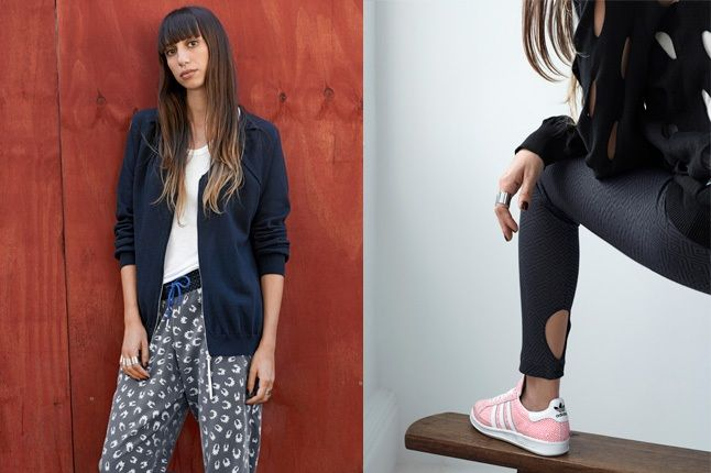 Adidas Originals Blue Spring Sneaker And Pants 1