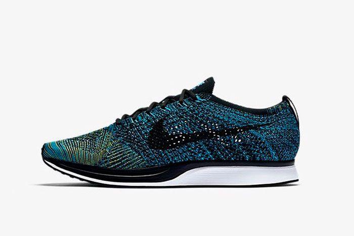 Nike Flyknit Racer Blue Glow 1