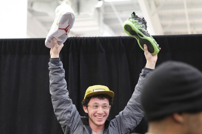 Sneaker Con New York 2012 Jordan Foamposite 1