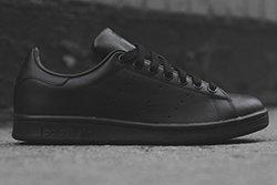 Adidas Stan Smith Triple Black Thumb