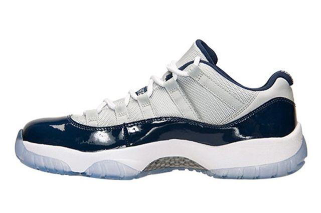 Air Jordan 11 Low Georgetown Hoyas 4