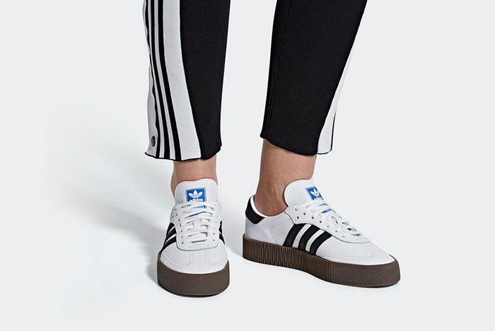 Adidas Sambarose White 2