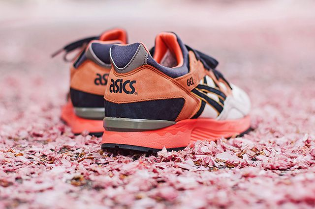 Ubiq X Asics Gel Lyte V Midnight Bloom 1