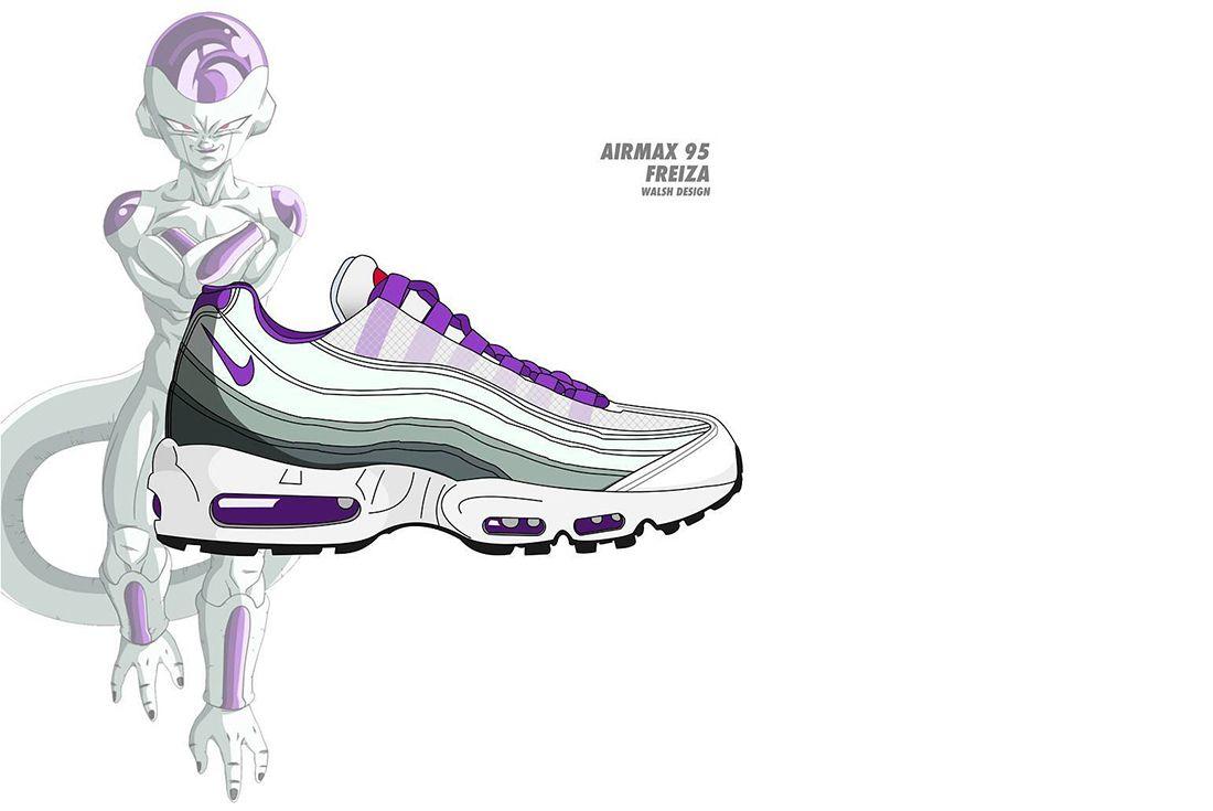 Dragon Ball Z Nike Walsh Design 4