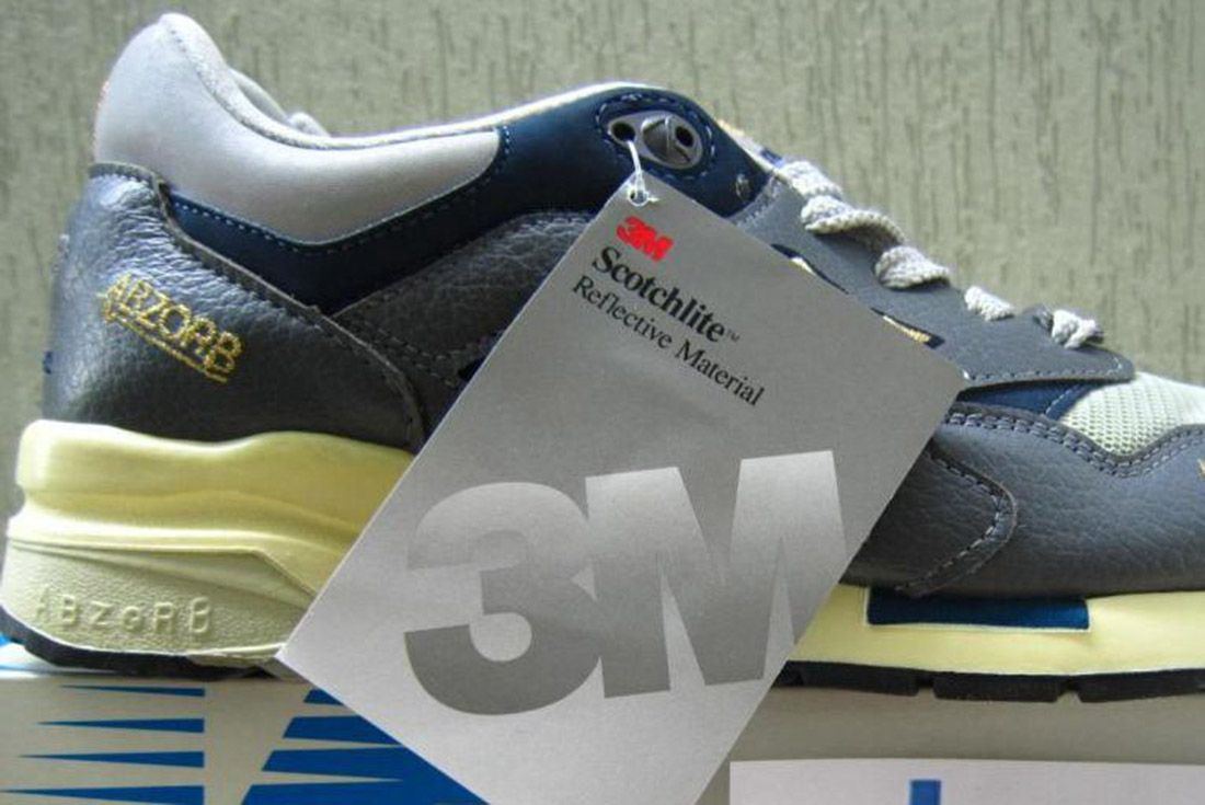 Material Matter What Is 3 M Reflective Vintage Swing Tag New Balance 1 1