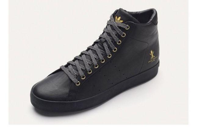 Adidas Og Vintage Rod Laver Hi Black Outer 1
