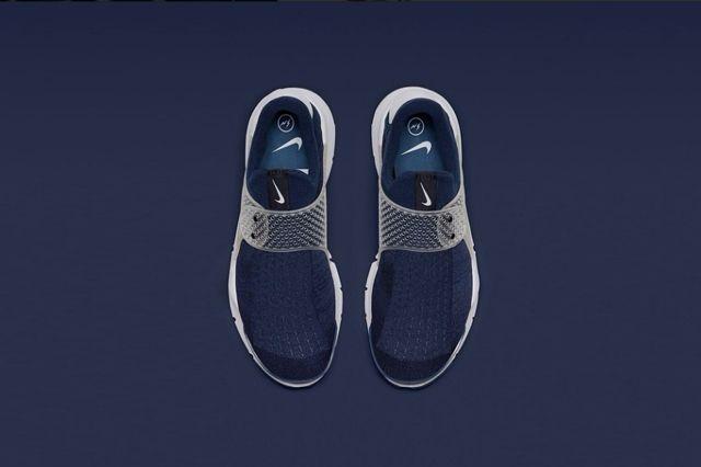 Fragment Nike Sock Dart Navy 1