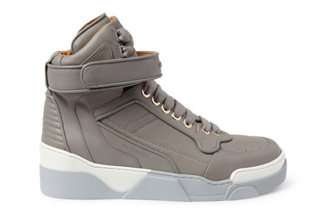 Givenchy Leather0High Top Sneakers 7
