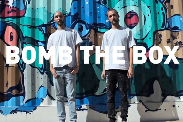 Boxpark Live Graffiti– Sobek Sicks Ha 14