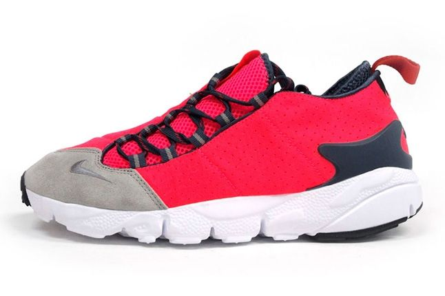 Nike Air Footscape Motion Grey Infra Profile 1