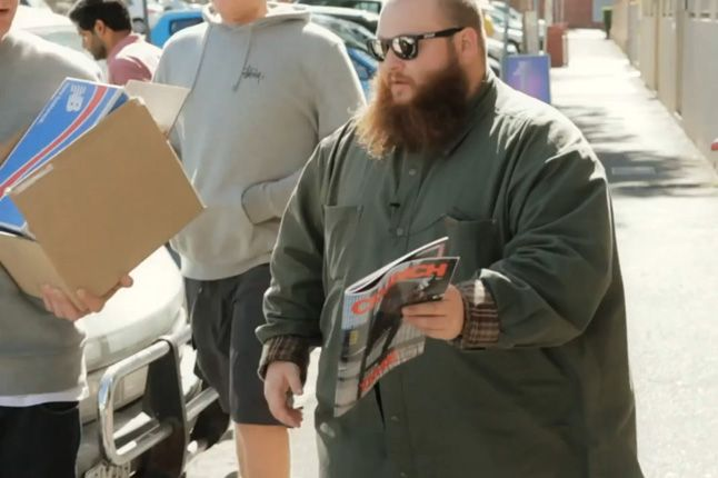 Action Bronson Melbourne Sneakers 1