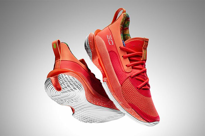 Sour Patch Kids Under Armour Curry 7 Peach Release Date Hero