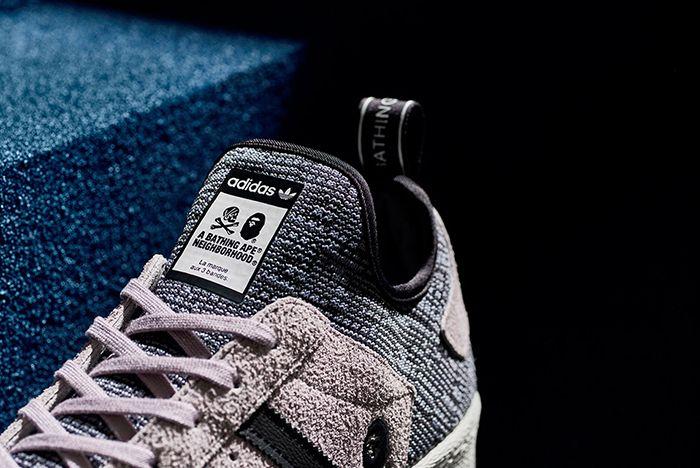 Bape X Neighborhood X Adidas Superstar Boost3