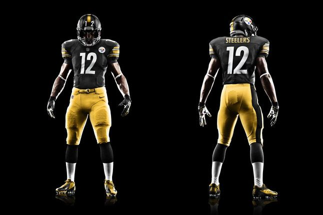 Pittsburgh Steelers Uniform 1