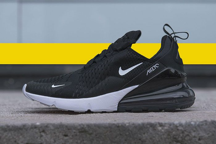 Nike Air Max 270 Black White 1