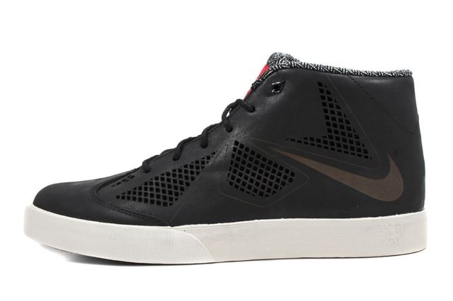 Nike Le Bron X Lifestyle Profile Black Red1