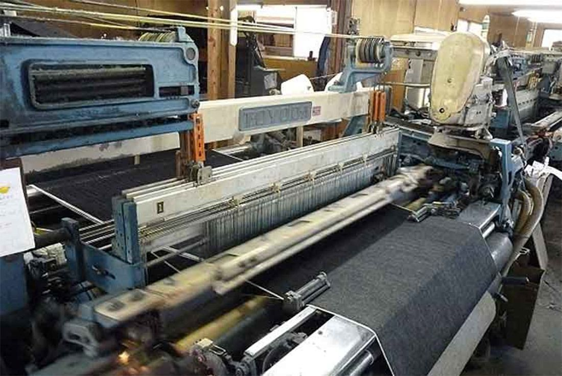 Material Matters Denim Toyoda Loom 1