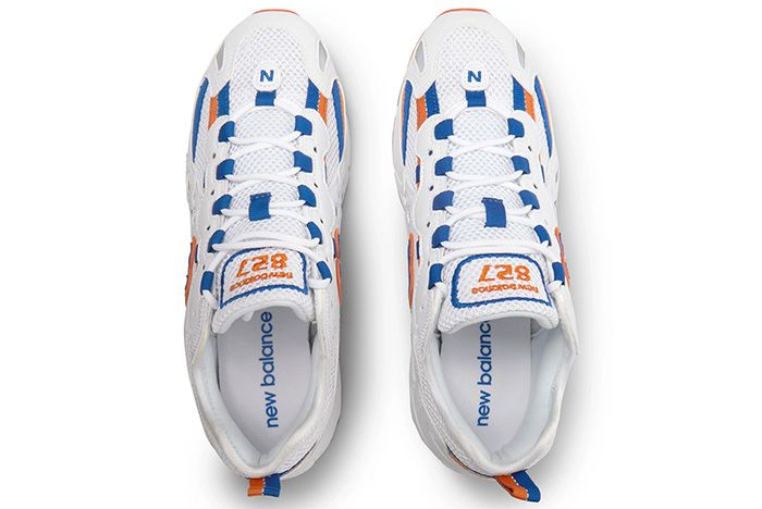 New Balance 827 Blue Orange Top 1