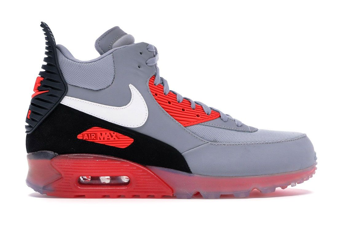 Nike Air Max 90 Sneakerboot Infrared Lateral Side Shot