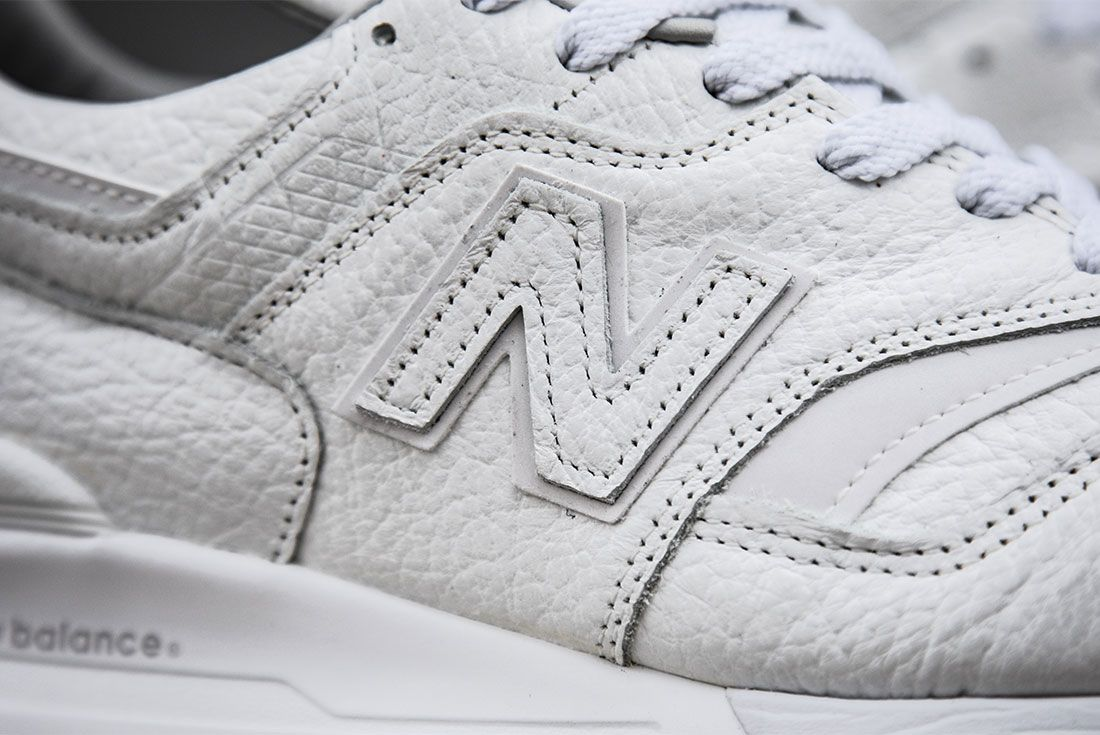 New Balance 997 Bison Pack White1