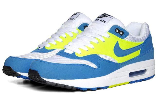 Air Max 1 Blue Glow Volt 1 1