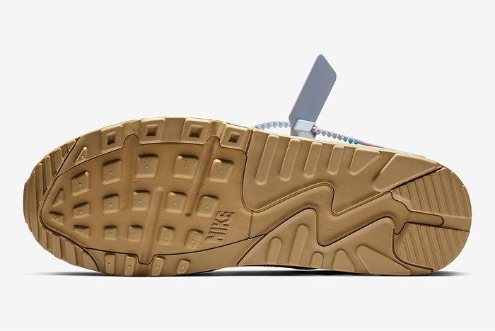 Off White Nike Air Max 90 Desert Ore Release Date 3