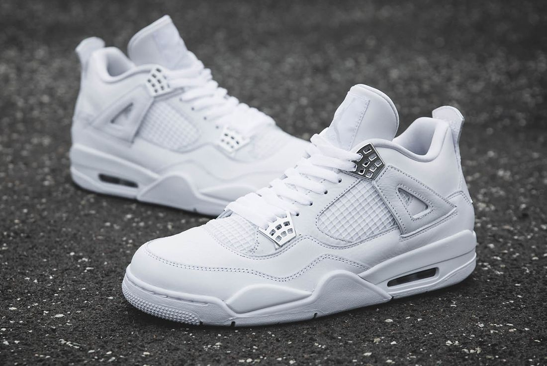 Up Close With The Air Jordan 4 Pure Money4 1
