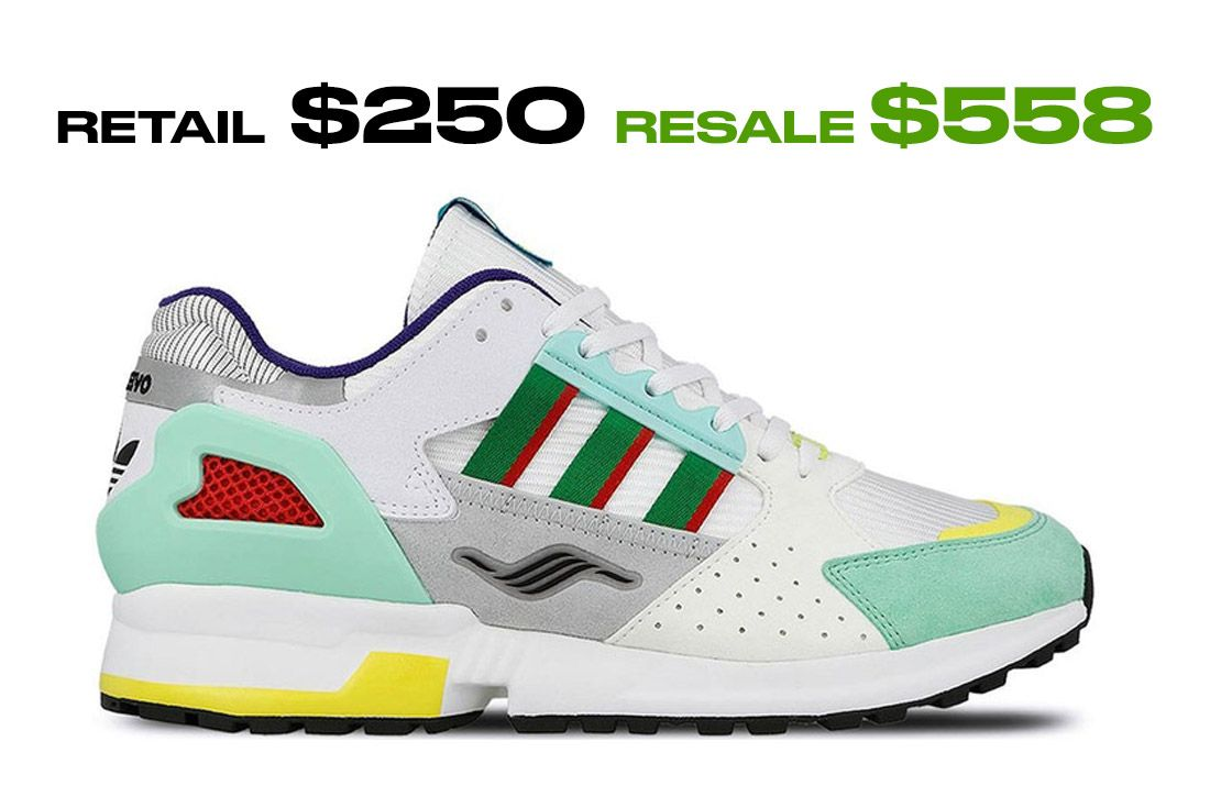 Adidas Zx 10 000 C Overkill I Can If I Want Right Side Shot