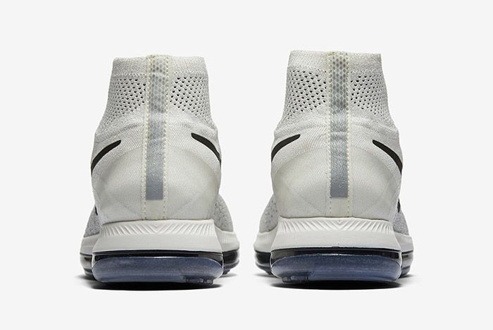 Nike Zoom All Out Flyknit Light Grey 2