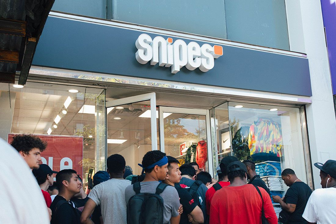 Snipes Store Opening Brooklyn Store Shot2