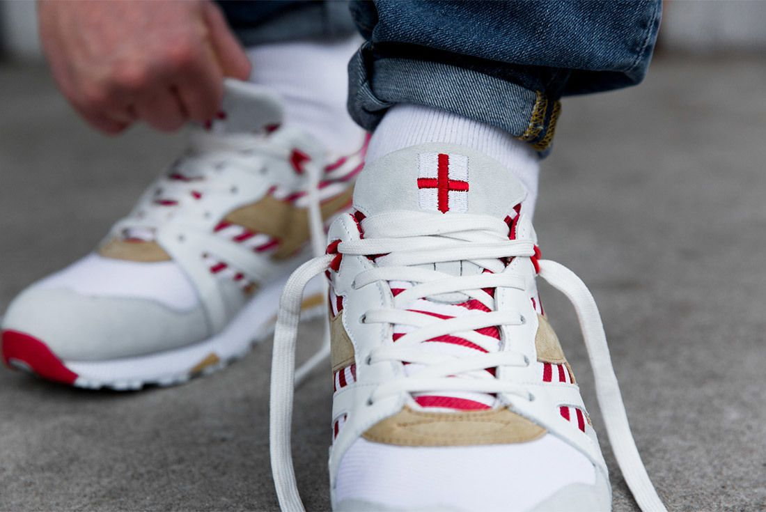 Diadora N9000 Made In Italy Red Bianco Sneaker Freaker 4A