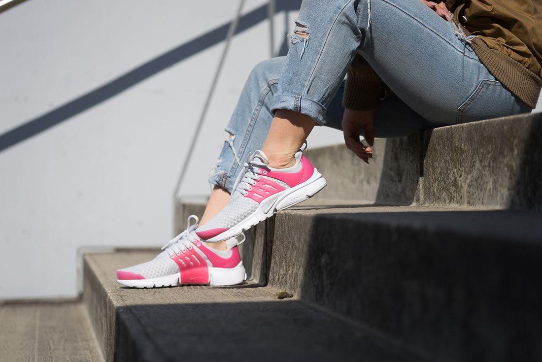 Nike Presto Breathe Gs Pure Platinum4