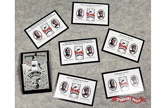 Vintage Nike Mars Blackmon Michael Jordan Trading Cards 13 1