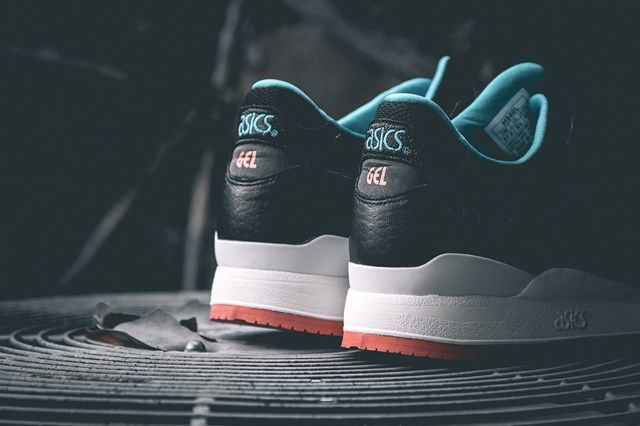 Asics Gel Lyte Iii Miami Vice Black 1