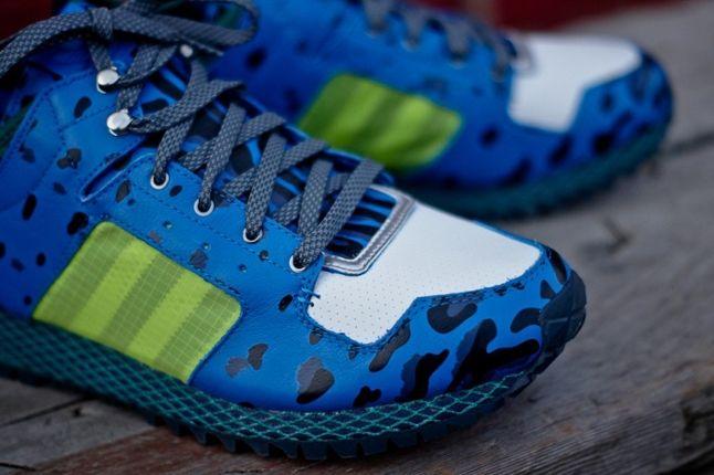 Adidas Opening Ceremony Newyork Runner Blue Toe Detail 1