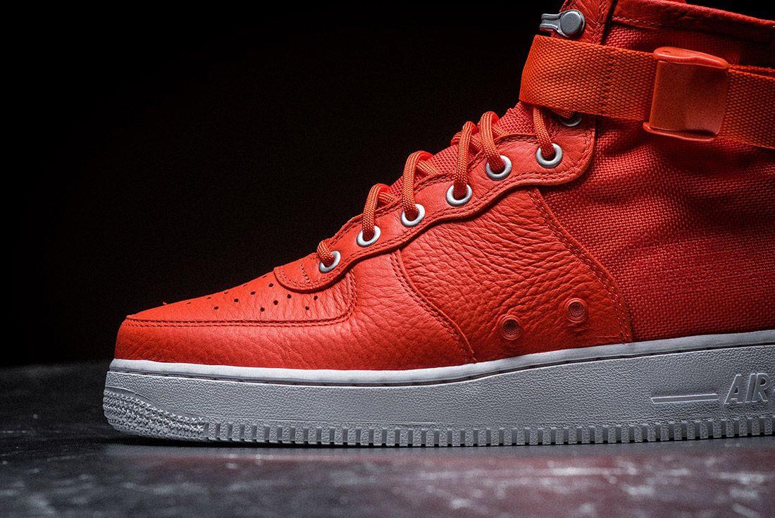 Nike Sf Air Force 1 Orange 4