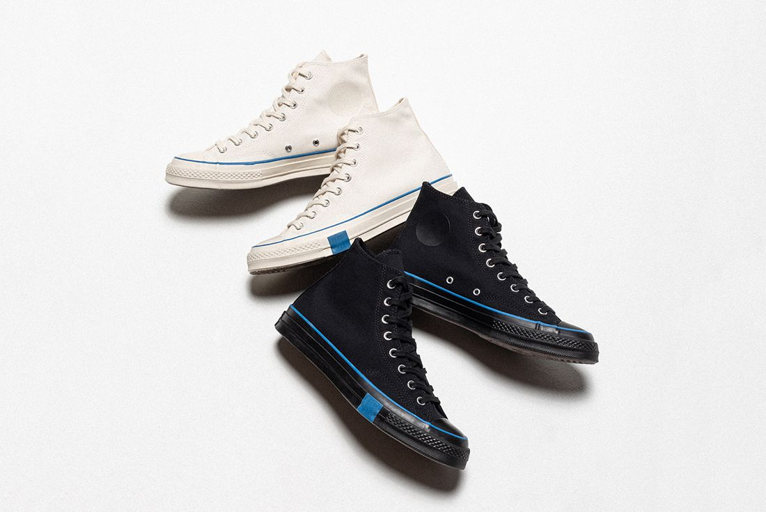 "Undefeated x Converse Chuck 70 ""FUNDAMENTALS"" on white"