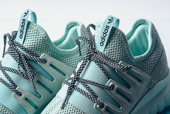 Adidas Tubular Radial Ice Mint 4
