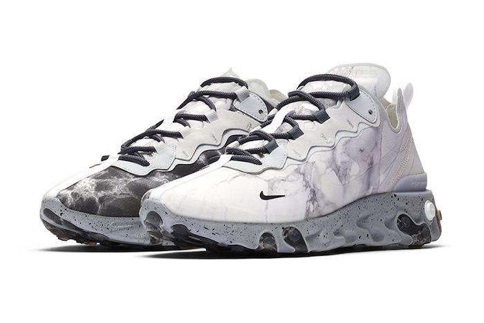 Kendrick Lamar Nike React Element 55 Cj3312 001 Release Date Pair