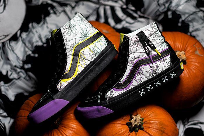 Size Vans Sk8 Hi Halloween 2019 Release Date Pair