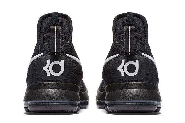 Nike Zom Kd 9 Blackwhite 2