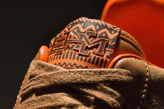 Nike Bhm Air Force 1 Downton Tongue Detail 1