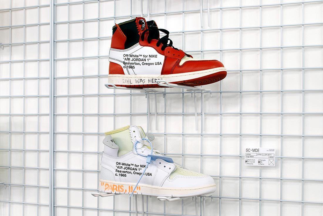Mudac Sneaker Colab Virgil